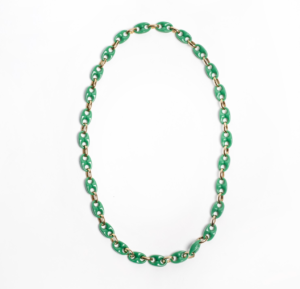 Txine Green Necklace